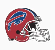 "NFL… Football ""HELMET"" Buffalo Bills by artkrannie"