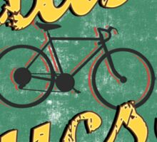 Bike Cycling Bicycle Cruising Tucson Arizona Sticker