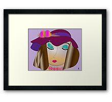 Ava Mia Framed Print