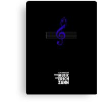 """The Music of Erich Zann"" Canvas Print"