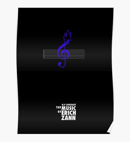 """The Music of Erich Zann"" Poster"