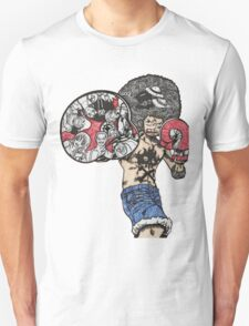 One Piece doodle without background Unisex T-Shirt