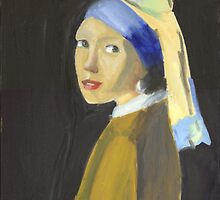 Girl with a Pearl Earring by sbnuss