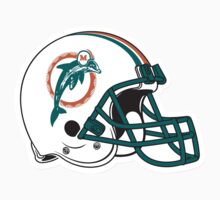 "NFL… Football ""HELMET"" Miami Dolphins by artkrannie"