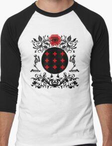 Occult theme  Men's Baseball ¾ T-Shirt