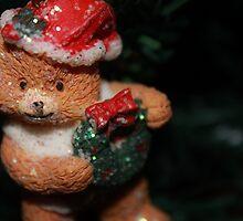 Christmas teddybear ♡ by Kerry McFall