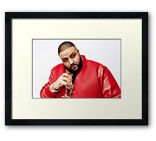 DJ Khaled Framed Print
