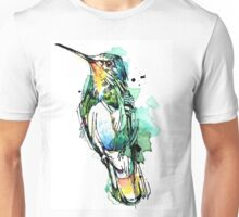Emerald Hummingbird Unisex T-Shirt