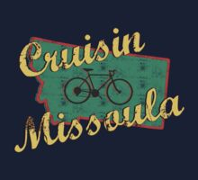 Bike Cycling Bicycle Cruising Missoula Montana by SportsT-Shirts