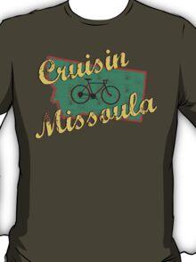 Bike Cycling Bicycle Cruising Missoula Montana T-Shirt