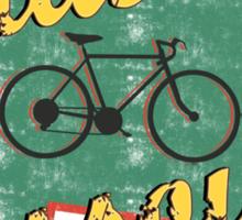 Bike Cycling Bicycle Cruising Missoula Montana Sticker