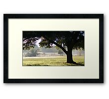 Post Office View Framed Print