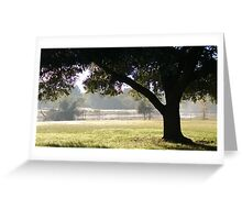 Post Office View Greeting Card