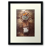 Sun Kachina Framed Print