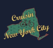 Bike Cycling Bicycle Cruising New York City by SportsT-Shirts
