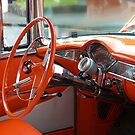 The Orange Chevy - the Interior.......! by Roy  Massicks