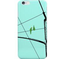 Love Birds Geometry iPhone Case/Skin