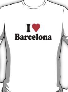 I Love Heart Barcelona T-Shirt