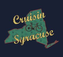 Bike Cycling Bicycle Cruising Syracuse New York by SportsT-Shirts