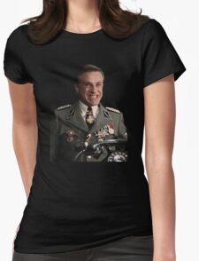 hans landa troll Womens Fitted T-Shirt