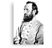 Stonewall Jackson | The Wighte Collection Canvas Print