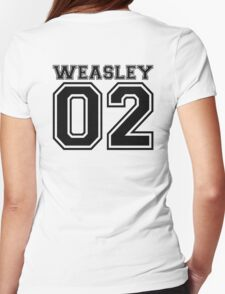 Weasley 02 Womens Fitted T-Shirt