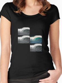 Four Barrels Women's Fitted Scoop T-Shirt