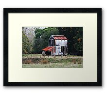 Picturesque decay - Dovedale 4 Framed Print