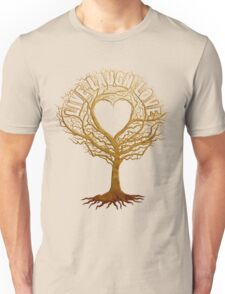 Live Laugh Love Tree of Life Unisex T-Shirt