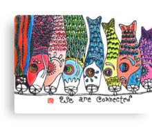Reunion (Koinobori) Canvas Print