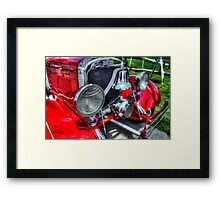 Fire Truck 001 Framed Print