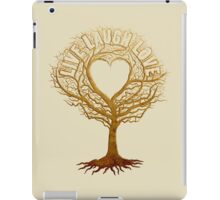 Live Laugh Love Tree of Life iPad Case/Skin