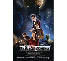 Time Wars - Return of the Doctors Photographic Print