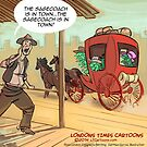 The Sage Coach Is In Town by Rick  London
