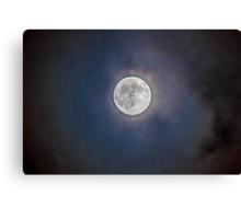 Good ole' Moon Canvas Print