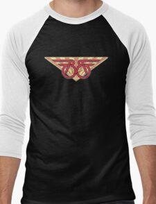 Buckaroo Banzai retro wings Men's Baseball ¾ T-Shirt