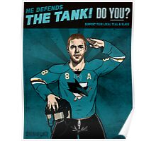 He Defends the Tank Poster