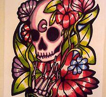 Mortem Roses by Naked-Skeleton