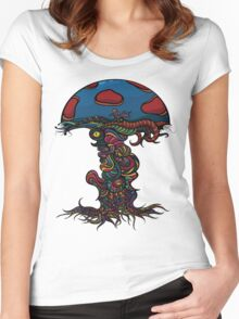 Heavy Shroom Women's Fitted Scoop T-Shirt