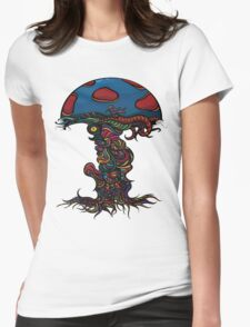 Heavy Shroom Womens Fitted T-Shirt