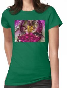 Essence of Orchid Womens Fitted T-Shirt