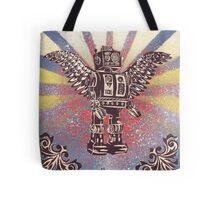 Flying Robot Tote Bag