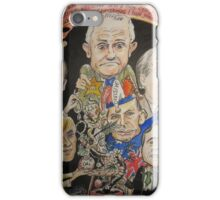 2015 End of year card- another PM over and a new one just begun iPhone Case/Skin
