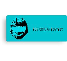 Bow Chicka Bow Wow Canvas Print