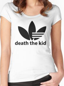 Death the kid Soul eater Adidas.  Women's Fitted Scoop T-Shirt