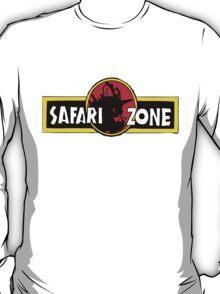 Safari zone pokemon jurassic park T-Shirt