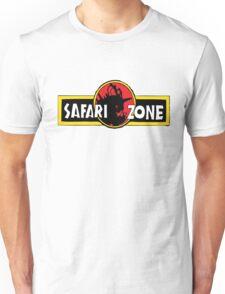 Safari zone pokemon jurassic park Unisex T-Shirt