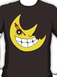 Moon from Soul eater and watchmen logo mashup T-Shirt