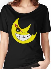 Moon from Soul eater and watchmen logo mashup Women's Relaxed Fit T-Shirt