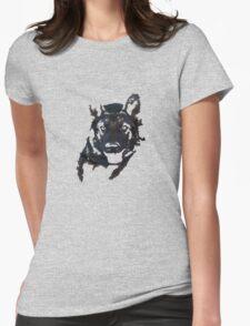 German Shepherd Womens Fitted T-Shirt